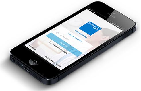 Cómo registrarse en MiSanitas a través de la App