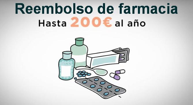 Reembolso de gastos de Farmacia